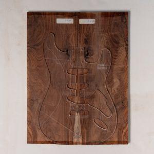 Pau Ferro Electric Guitar Top