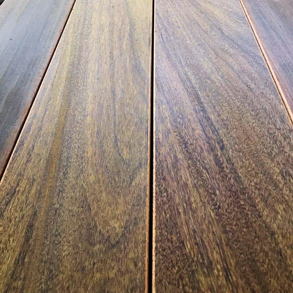 IPE Decking Wood Grain